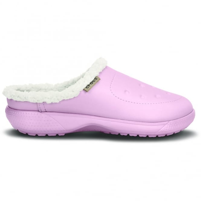 Crocs ColourLite Lined Clog Pearl Pink/Oatmeal, Winter just got lighter and brighter