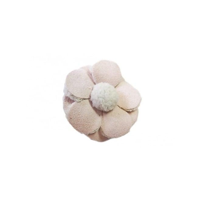 Jibbitz Fuzzibitz Flower Cotton Candy