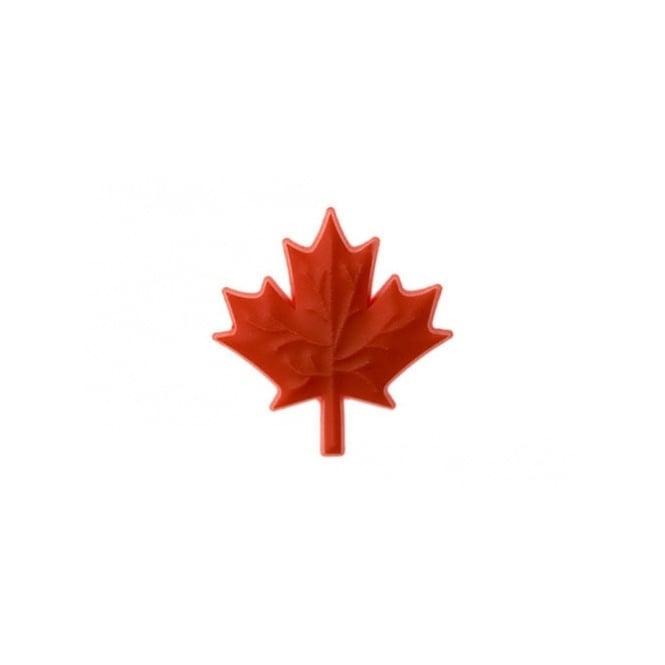 Jibbitz Maple Leaf Red