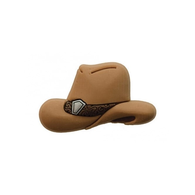 Jibbitz Cowboy Hat Brown