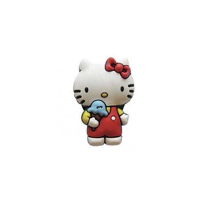 Jibbitz Hello Kitty with Ice Cream
