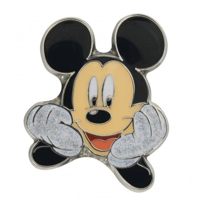 Jibbitz Mickey Mouse Metal Glitter