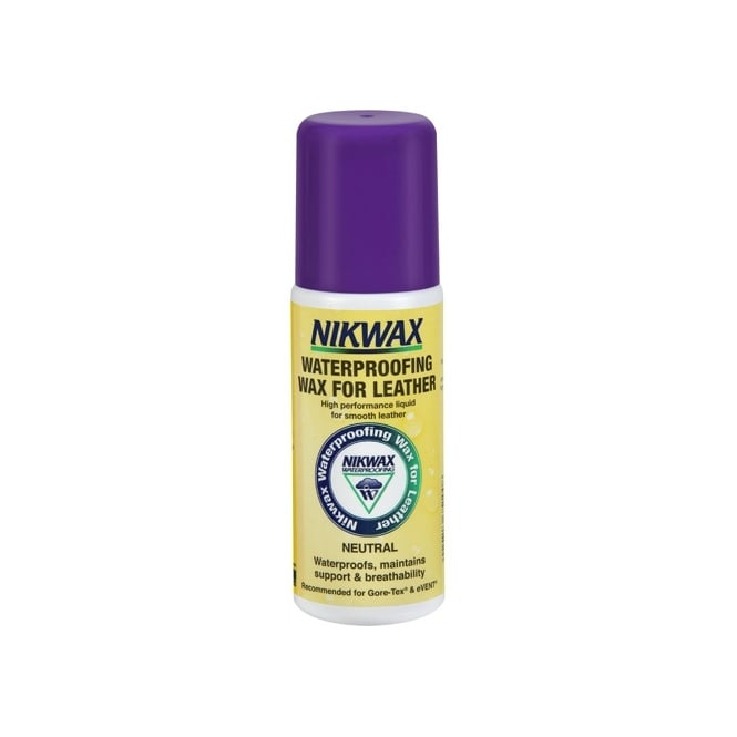 Nikwax Waterproofing Wax for Leather Liquid 125ml, High performance waterproofing that maintains support and breathability