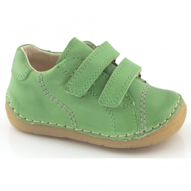Froddo Mini Velcro G2130055-4 Green, Soft Leather Toddler shoe