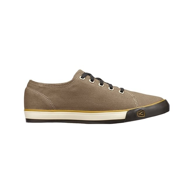 KEEN Mens Timmons Low Lace Brindle, 100% cotton canvas shoe
