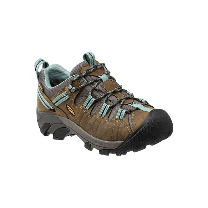 KEEN Womens Targhee ll Black Olive/Mineral Blue, hiking shoe thats is ready for your off-road challenges