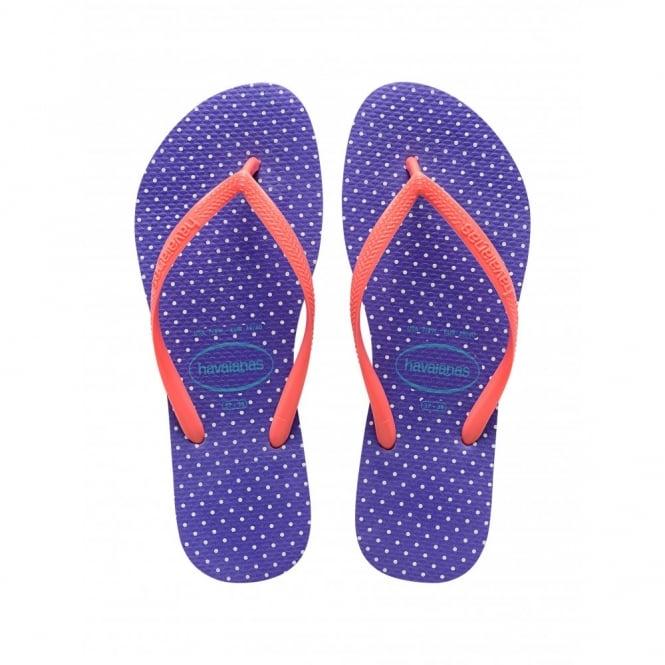 Havaianas Slim Fresh Purple, the original flip flop designed for ladies