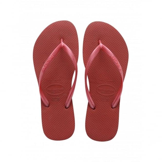 Havaianas Slim Red, Slender Flip Flops