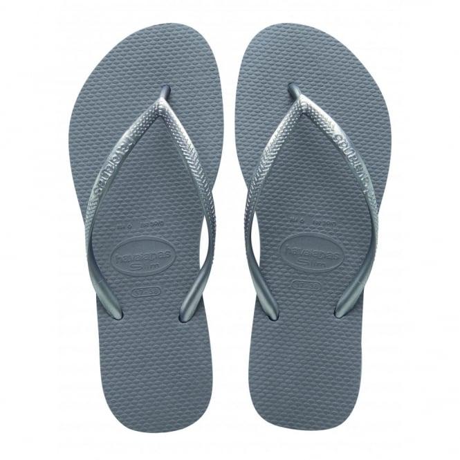 Havaianas Slim Steel Grey, Slender Flip Flops