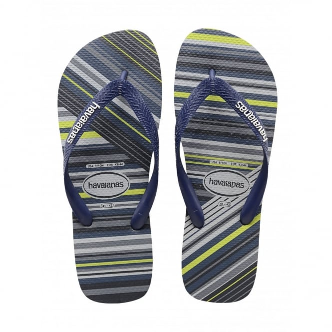 Trend Grey/Navy/White, the original flip flop with a trendy stlye