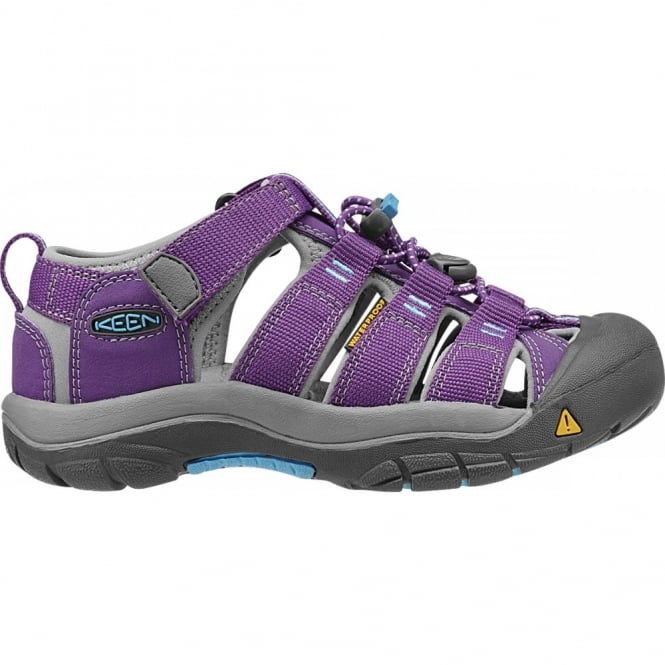 KEEN Kids Newport H2 Purple Magic/Blue Grotto, ideal for in and out of the water