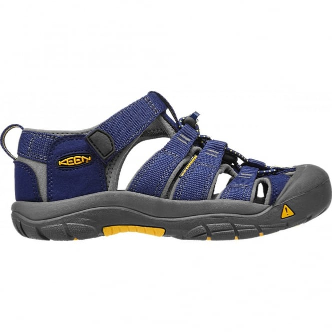KEEN Kids Newport H2 Blue Depths/Gargoyle, ideal for in and out of the water