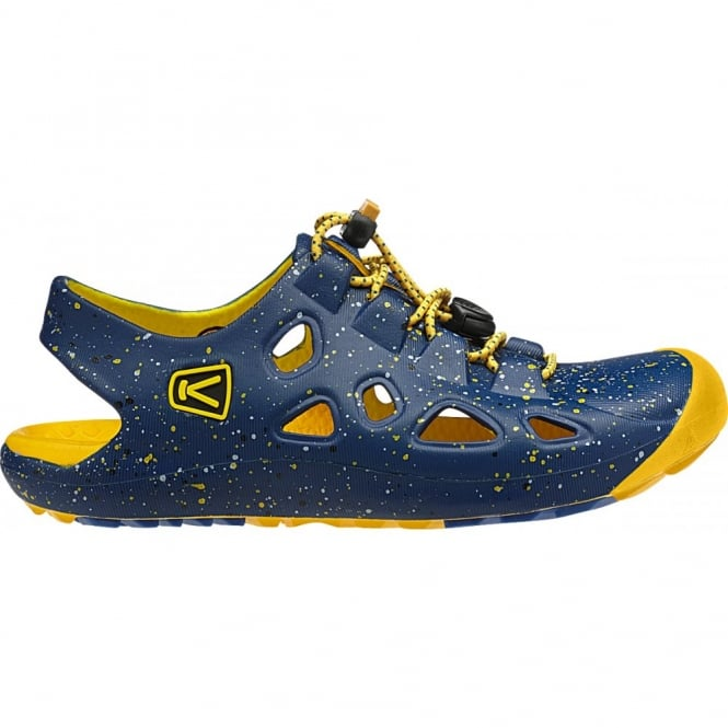 KEEN Infant Rio True Blue/Yellow, comfortable and flexible fit