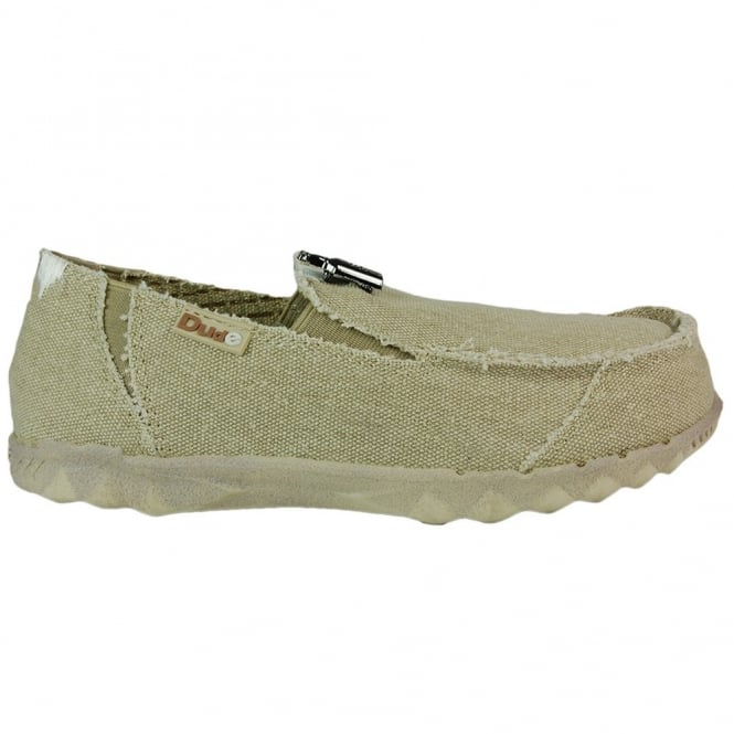 Dude Farty Classic Desert, canvas slip on mule