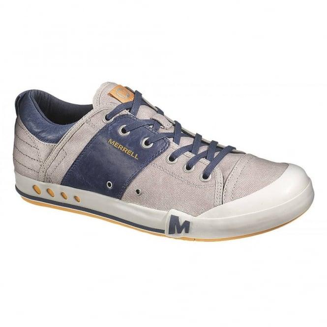 Merrell Rant Aluminum/Navy, Versatile and sophisticated Sneaker