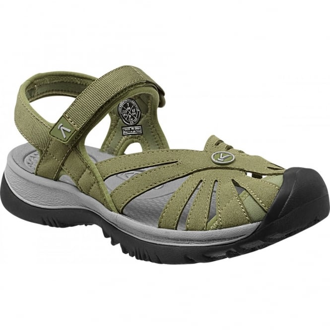 KEEN Womens Rose Sandal Loden/Neutral Grey, a washable sandal that provides comfort when you need it most!
