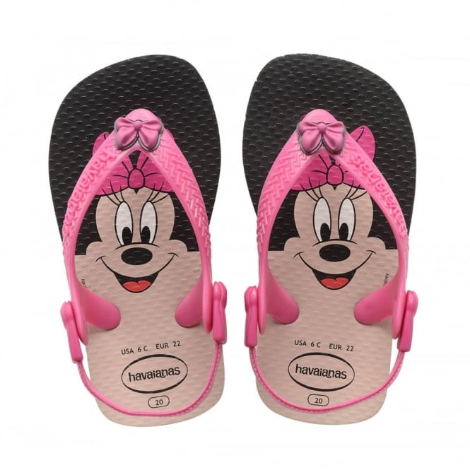 Havaianas Baby Disney Classic Minnie Mouse White/Pink,