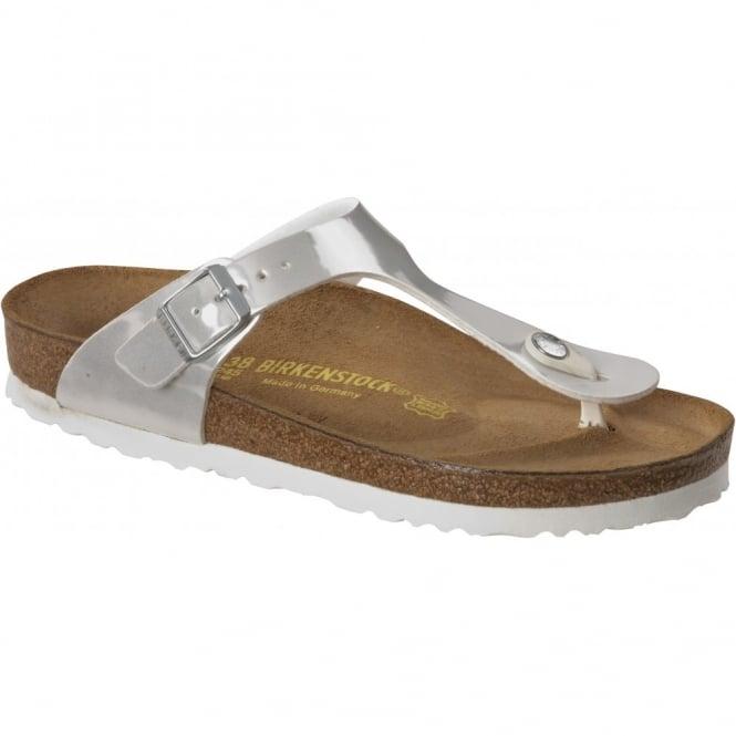 Birkenstock Gizeh Pearly White 745271, The best selling Birkie toe post