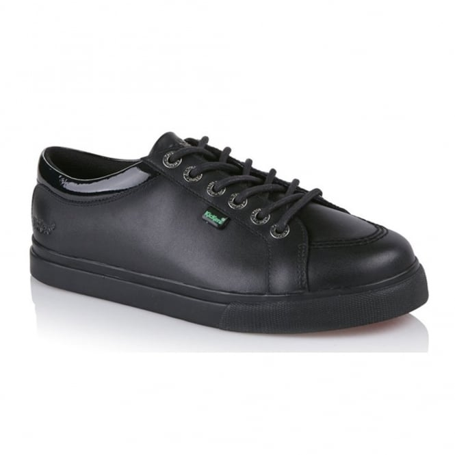 Kickers Women's Tovni Lo lace up Black, ideal for school or work