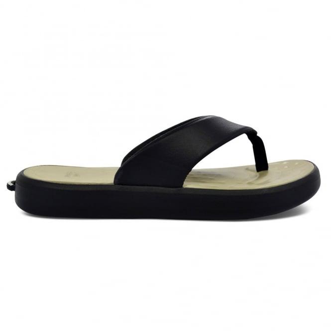 Soft Science Skiff Flip Flop Black/Khaki, supreme comfort & cushioned footwear