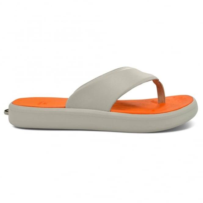 Soft Science Skiff Flip Flop Light Grey/Orange, supreme comfort & cushioned footwear