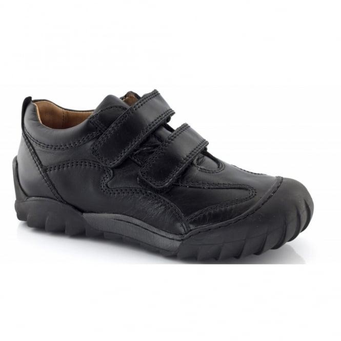Froddo Velcro 2 strap shoe G3130060 Black