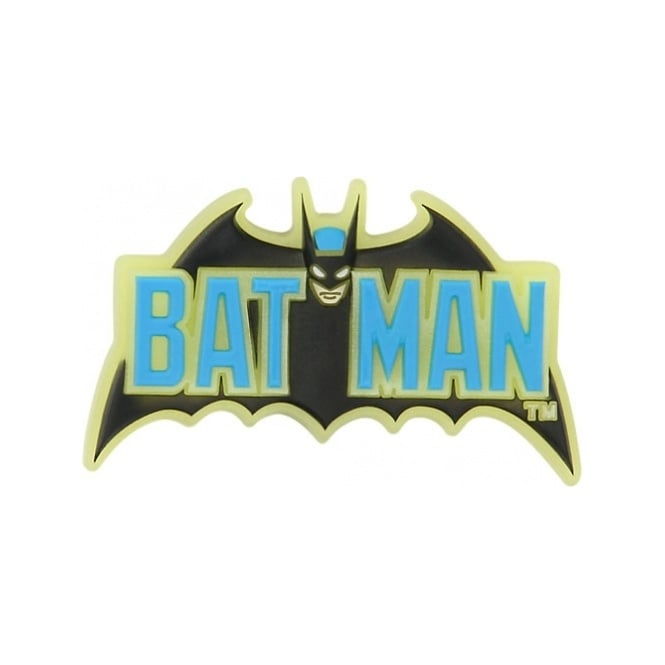 Jibbitz Batman Logo Glow In The Dark
