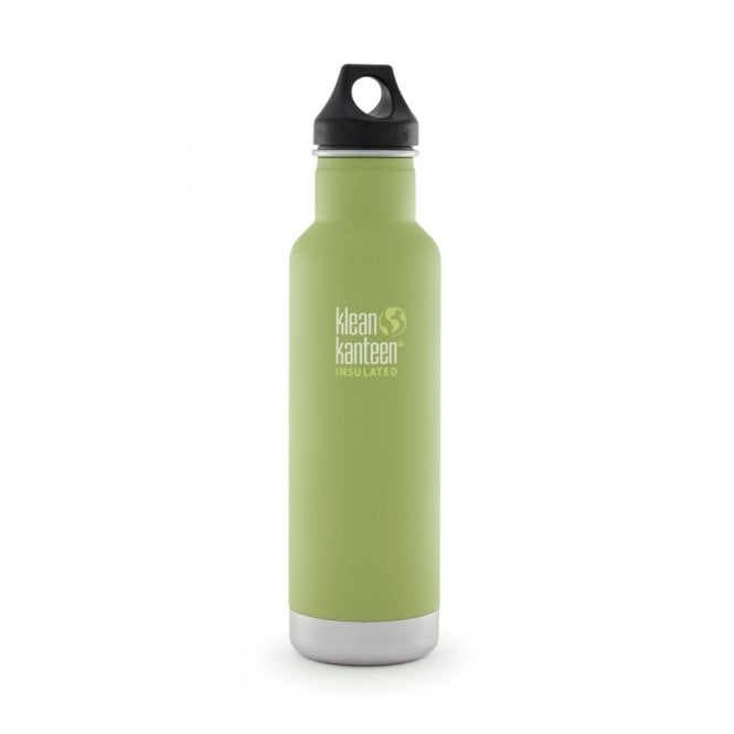 Klean Kanteen 592ml Classic Insulated Matte Bamboo Leaf, Water Bottle great for on the move