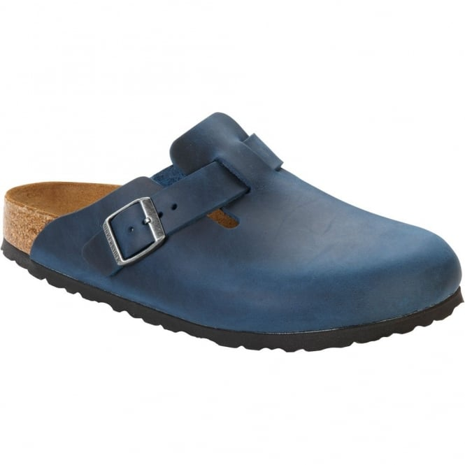 Birkenstock Clogs Boston 459071 Insignia Blue, Classic Clog