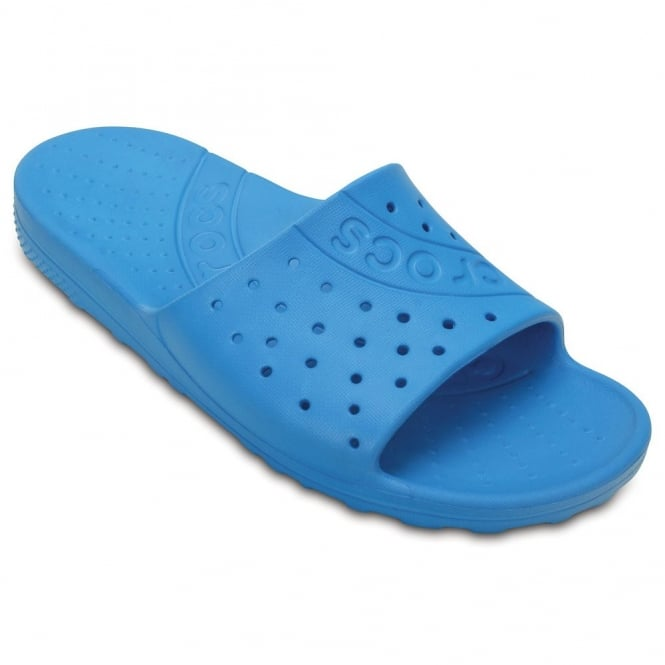 Crocs Chawaii Slide Ocean, lightweight slip on sandal perfect for around the house, pool or beach!