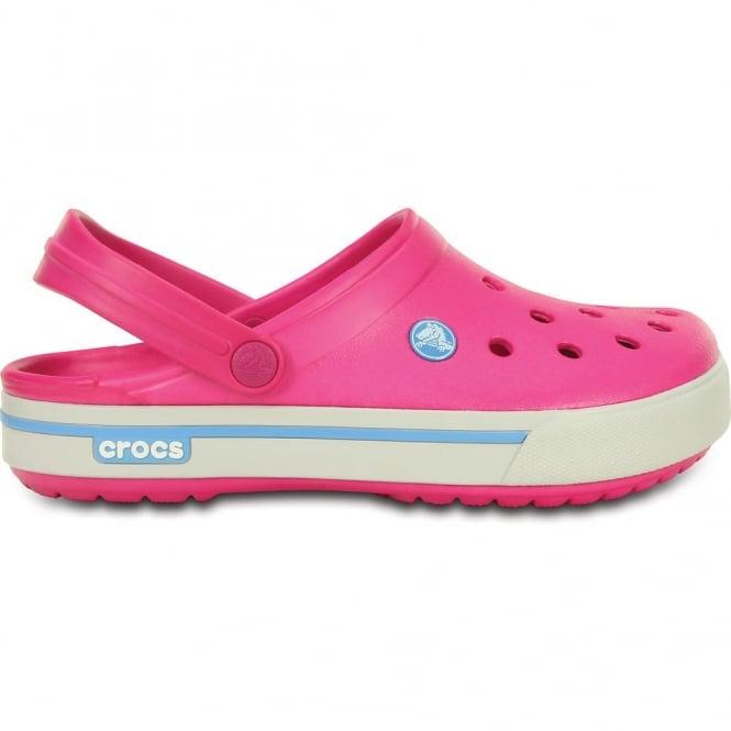 Crocs Crocband II.5 Clog Candy Pink/Blue Bell Retro styled slip on croslite shoe
