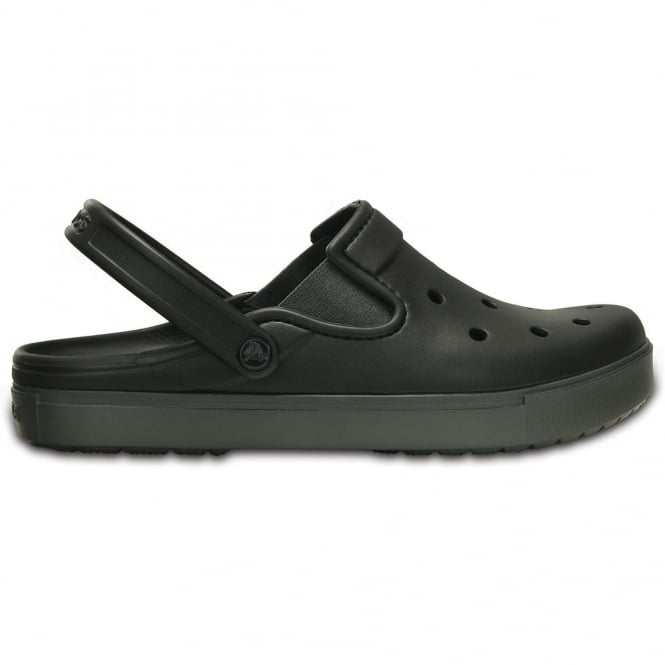 Crocs Citilanes Clog Black/Graphite, a slender version of the Classic and Crocband Clog for a more taylored fit