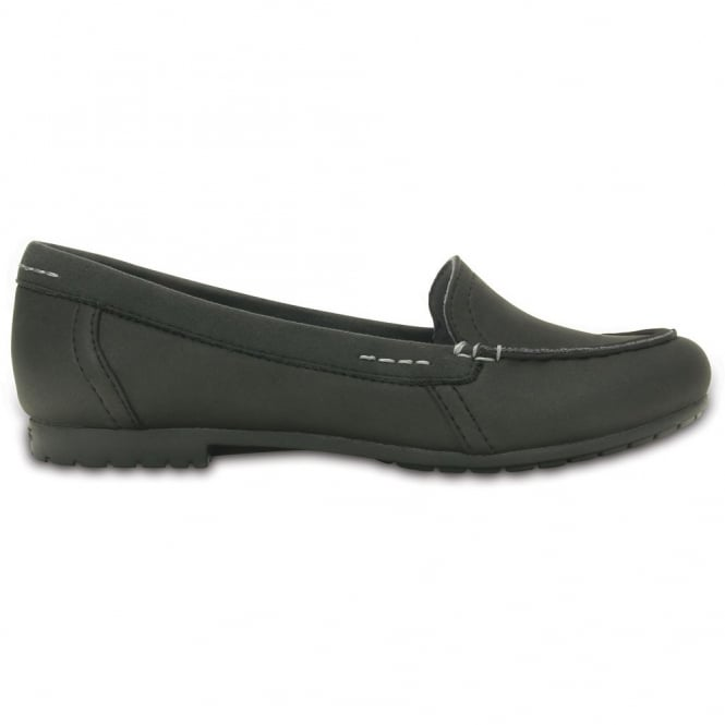 Crocs Womens Marin Colourlite Loafer Black/Black, light and easy to wear