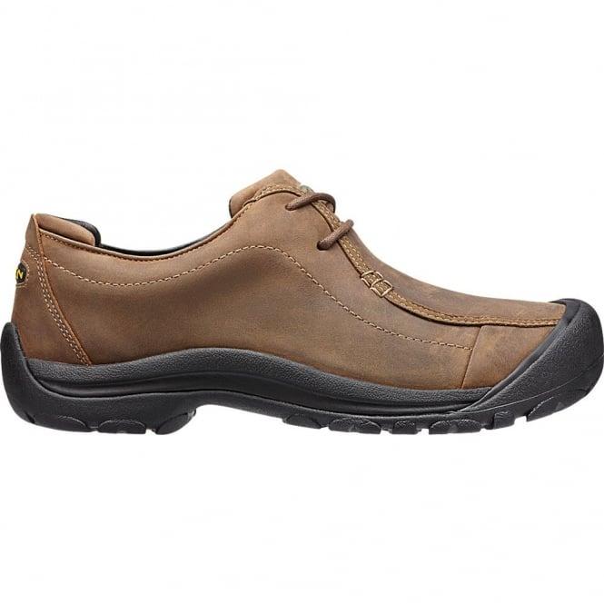 KEEN Mens Portsmouth II Dark Earth, smart leather shoe