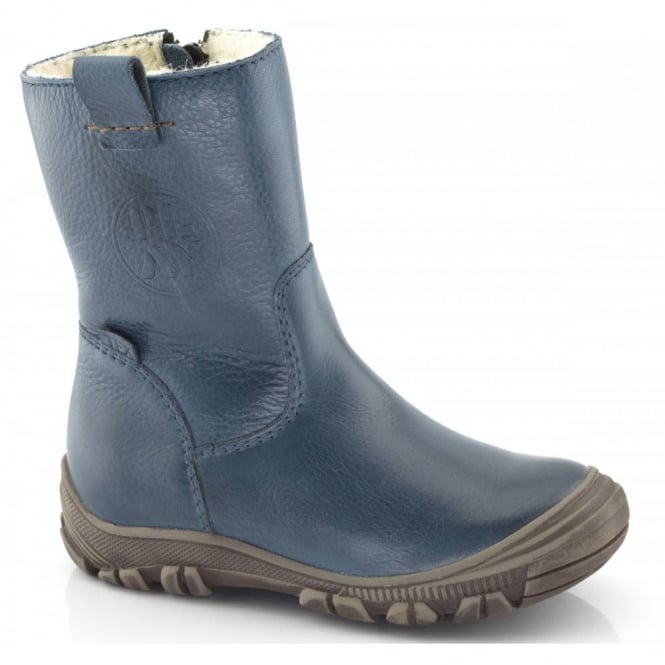 Froddo Infant Ankle Boot G3160042 Blue, waterproof ankle boot