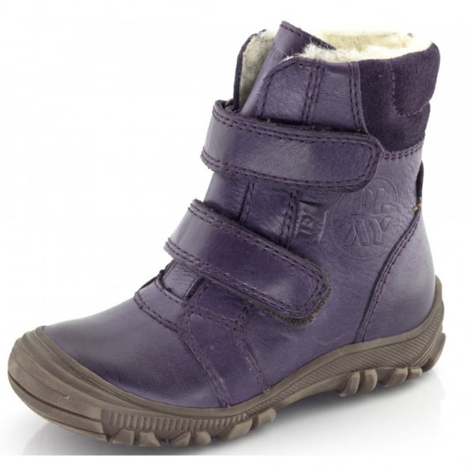 Froddo Infant Ankle Boot G3110057-5 Purple, waterproof velcro ankle boot