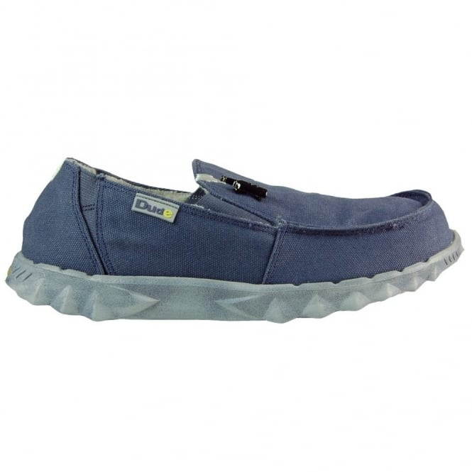 Dude Chalet Blue, Fur lined Casual shoe