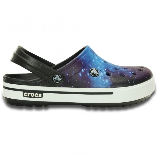 Crocs Crocband II.5 Clog Galactic, Retro styled slip on croslite shoe with a galactic twist