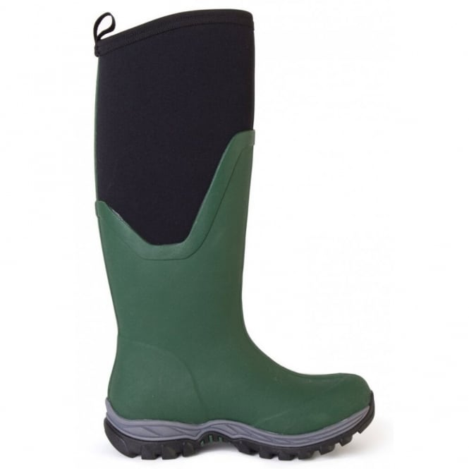 The Muck Boot Company Arctic Sport II Green, the warmest ladies welly in the muckboot range!