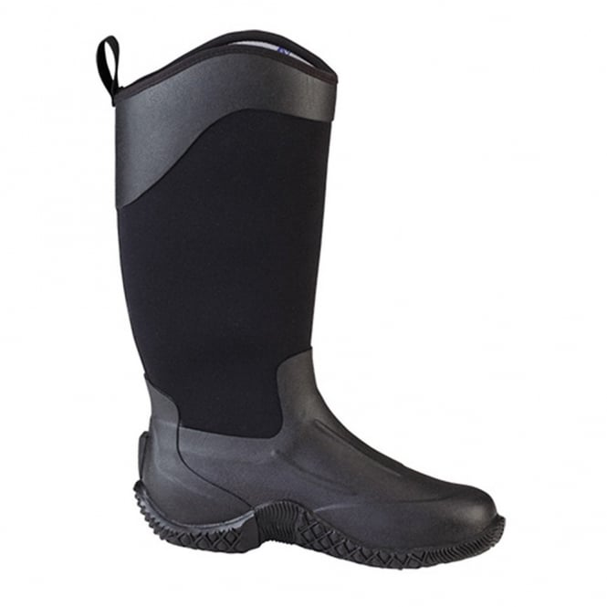 The Muck Boot Company Tack II Tall Black, Womens,  a new take on the original equestrian & farm boot