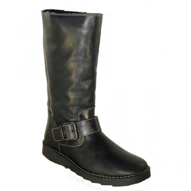Oxygen Rhone Black, Mid Calf Boot