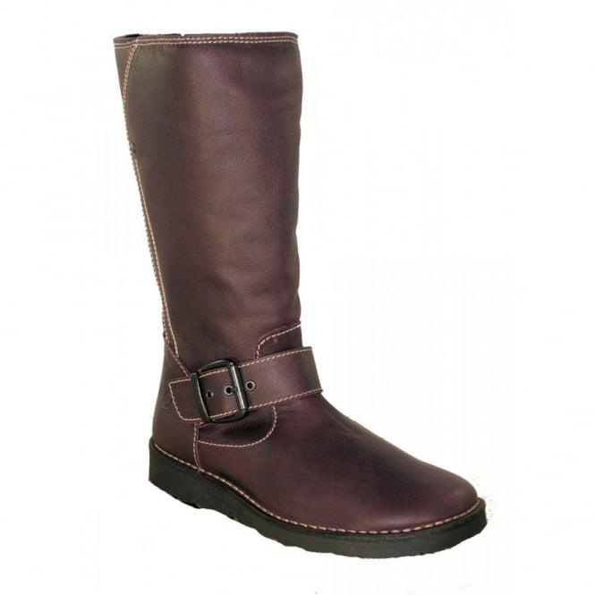 Oxygen Rhone Purple, Mid Calf Boot