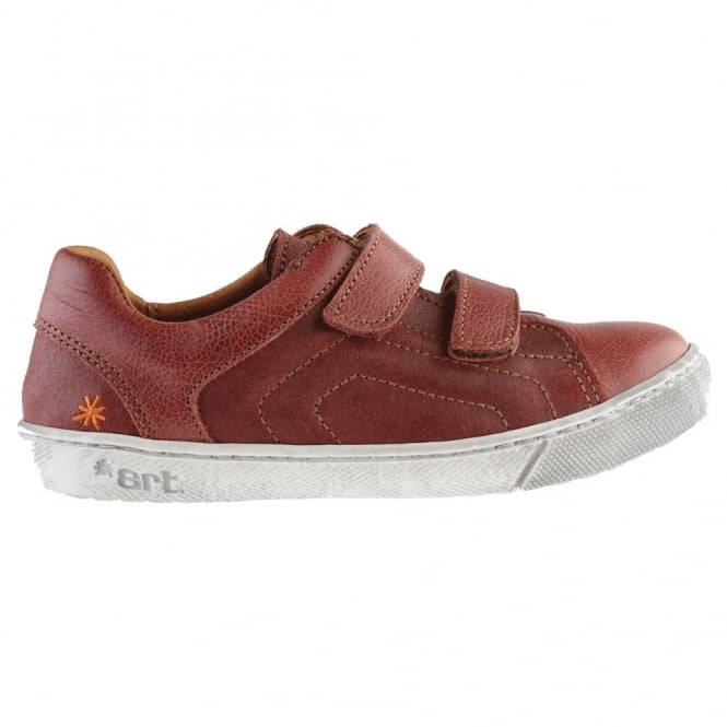 The Art Company A534 Junior Dover Amarante, leather velcro sneaker