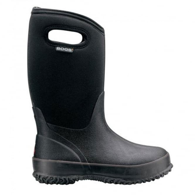 Bogs 52065 Classic High Black, 100% waterproof wellington boot for extreme weathers!