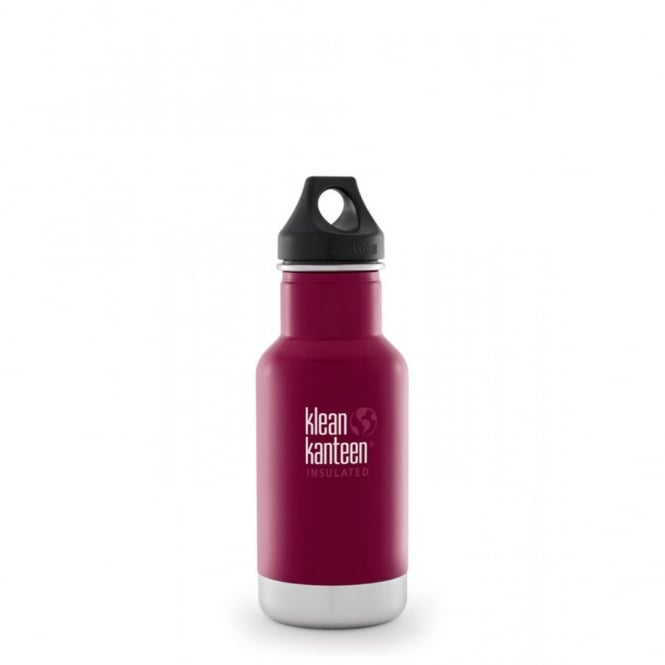 Klean Kanteen 355ml Classic Insulated Beet Root, Water Bottle great for on the move