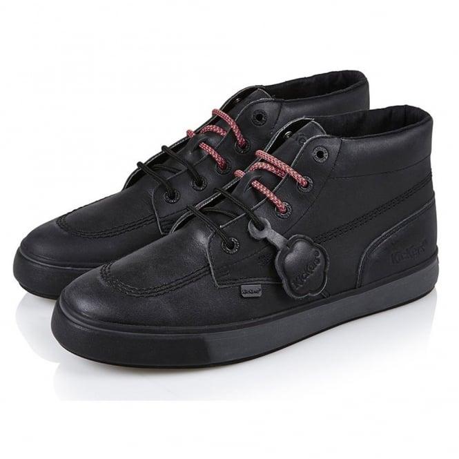 Kickers Tovni HI Black, a classic back to school or work shoe