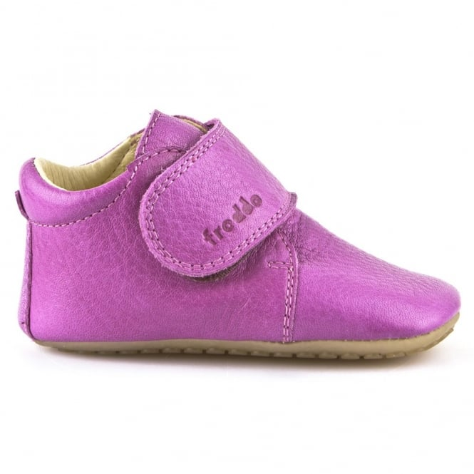Froddo Pre Walkers G1130005 Fuchsia, delicate little shoes with flexible soles & soft leather