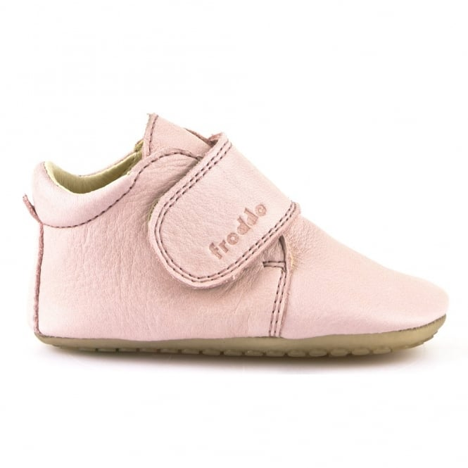 Froddo Pre Walkers G1130005-1 Pink, delicate little shoes with flexible soles & soft leather