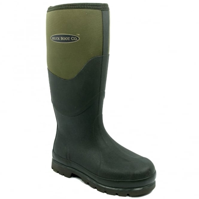 The Muck Boot Company Chore 2K Moss, The original neoprene lined wellie!