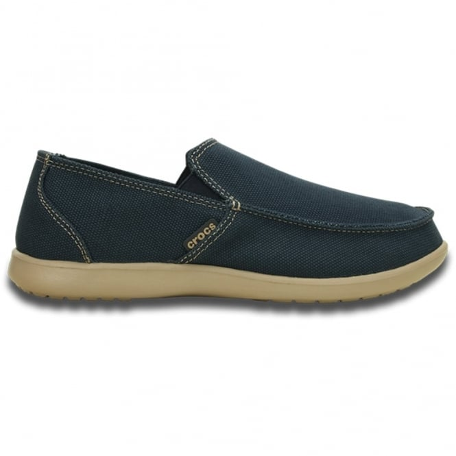 Crocs Santa Cruz Clean Cut Loafer Navy/Tumbleweed,